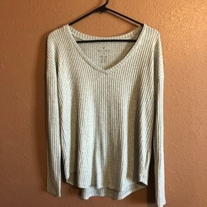 AE Soft & Sexy Ribbed Long Sleeved Sweater